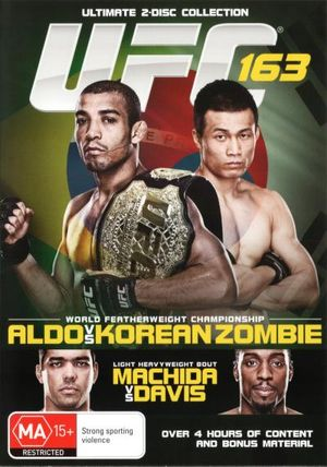 UFC 163 : Aldo vs Korean Zombie - Jose Aldo