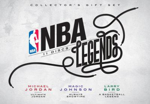NBA : Legends Collector's Gift Set (Michael Jordan / Magic Johnson / Larry Bird) (Limited Edition) - Danny Glover