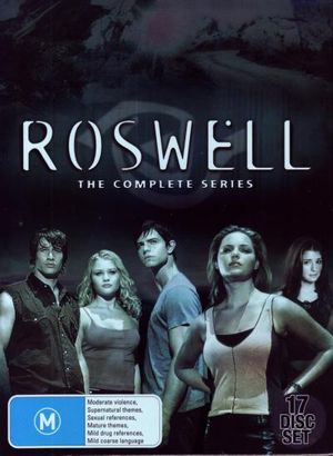 Roswell - The Complete DVD Collection : Seasons 1-3 (17 Disc Box Set) - Emile De Ravin