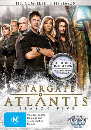 Stargate Atlantis : The Complete Season 5 - Sharon Taylor