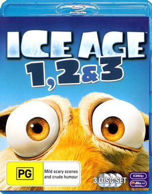 Ice Age 1, 2 and 3 (3 Discs) - Ray Romano