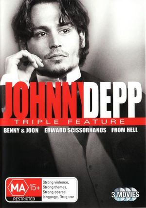 Johnny Depp Triple Pack - Benny And Joon/Edward Scissorhands/From Hell - Johhny Depp