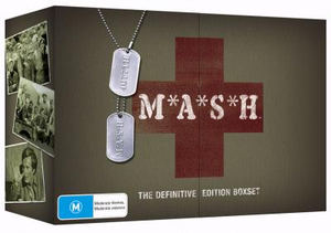 M*A*S*H : The Definitive Edition Boxset (35 Disc Box Set) - Mike Farrell