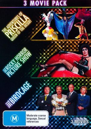 Adventures of Priscilla, Queen of the Desert / Rocky Horror Picture Show / Birdcage - Tim Curry