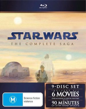 Star Wars : The Complete Saga (6 Movies 9 Discs) - George Lucas