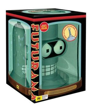 Futurama : Season 1-5 (Bender's Head) (includes 4 Specials) - Katey Segal