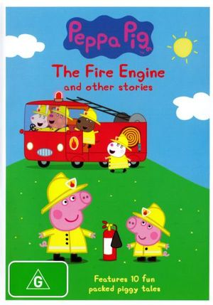 Peppa Pig : Fire Engine and Other Stories - Harley Bird
