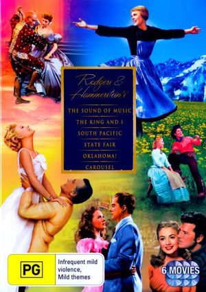 Rodgers and Hammerstein's Collection : The Sound of Music/The King and I/South Pacific/State Fair/Oklahoma!/Carousel (6 Discs) - Dick Haymes
