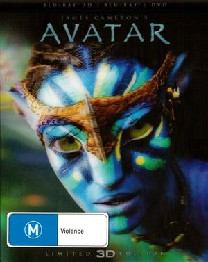 Avatar (3D Blu-ray/Blu-ray/DVD) (Limited Edition) - Sam Worthington
