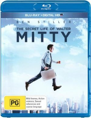 The Secret Life of Walter Mitty (Blu-ray/DC) - Ben Stiller