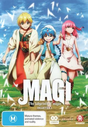 Magi : The Labyrinth of Magic: Collection 1 (Episodes 1-12) - Erica Mendez