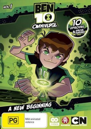 Ben 10 On DVD Buy New amp Blu ray Movie Releases From Booktopia