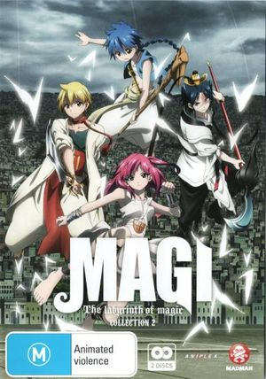 Magi : The Labyrinth of Magic: Collection 2 - Erica Mendez