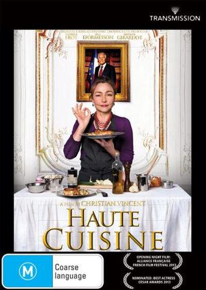 haute cuisine on dvd buy new dvd blu ray movie releases from booktopia australia 39 s online. Black Bedroom Furniture Sets. Home Design Ideas