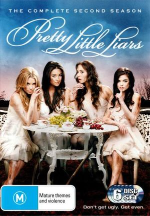 Pretty Little Liars First Book Cover ~ Pretty little liars on dvd buy new blu ray movie