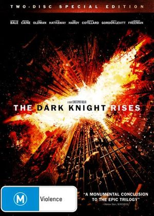 The Dark Knight Rises : 2 Disc Special Edition - Christian Bale