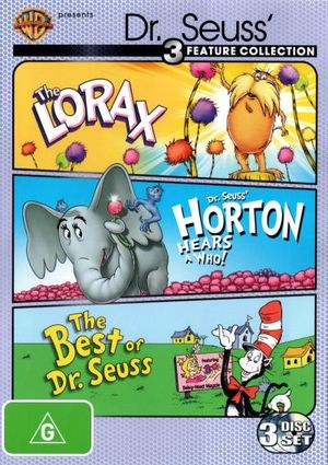 The Lorax (1972) / Horton Hears a Who! (1970) / The Best of Dr Seuss (1972) (3 Discs) - June Foray