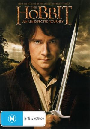 The Hobbit : An Unexpected Journey (DVD/UltraViolet) - Peter Jackson