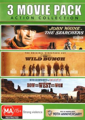 How the West Was Won / The Searchers / The Wild Bunch - Jeffrey Hunter
