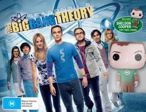 The Big Bang Theory : Seasons 1 - 6 (Limited Edition with Sheldon Pop Vinyl Figurine) - Jim Parsons