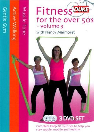 Fitness for the Over 50's : Volume 3 (Nancy Marmorat) (3 Discs) - Nancy Marmorat
