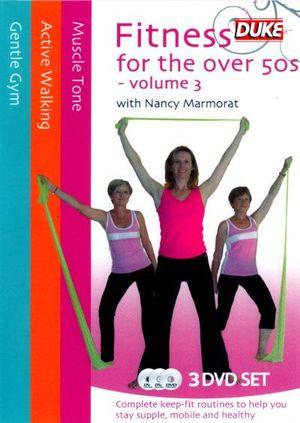 Fitness for the Over 50's : Volume 3 (Nancy Marmorat) (3 Discs) - Nancy Marmorat
