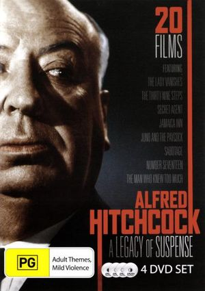 Alfred Hitchcock : A Legacy of Suspense (20 Films, 4 Discs) - Derrick DeMarney