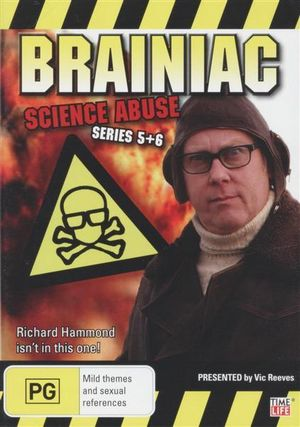 Brainiac  : Science Abuse : Richard Hammond Isn't In This One - Series 5 + 6  - Peter Eyre