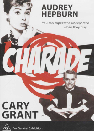 Charade : You Can Expect The Unexpected When They Play... - Cary Grant