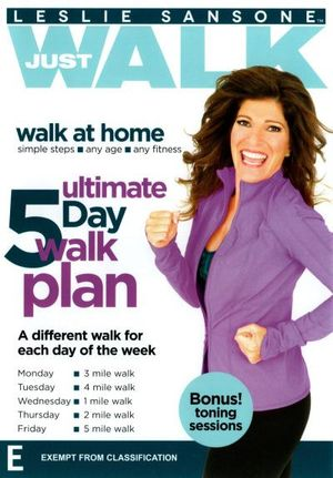 Leslie Sansone : Just Walk Ultimate 5 Day Walk Plan - Leslie Sansone