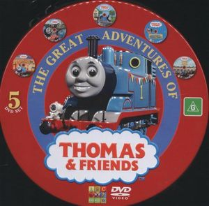 50 episodes x the great adventures of thomas the tank engine and