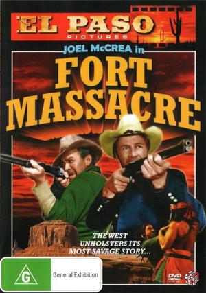 El Paso : Fort Massacre - Joel McCrea
