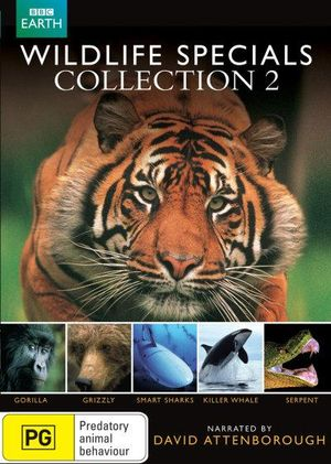 Wildlife specials collection 2 gorrilla grizzly smart sharks