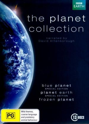 The Planet Collection (Blue Planet/Planet Earth/ Frozen Planet) (13 Discs) - David Attenborough