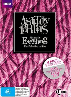 Absolutely Fabulous : Absolutely Everything - The Definitive Edition - Julia Swalha