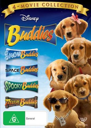 Buddies 4 Movie Collection Discs On DVD Buy New