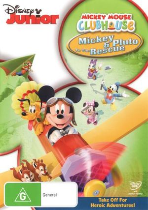 mickey mouse clubhouse mickey and pluto to the rescue