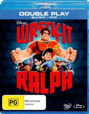 Wreck-It Ralph (Blu-ray/DVD) - John C Reilly