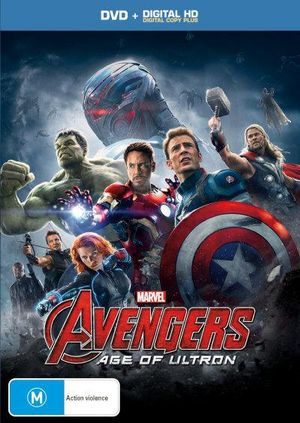 Avengers Age Of Ultron Dvd