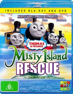 Thomas & Friends : Misty Island Rescue - The Movie (2 Discs) - Ben Small