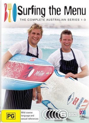 Surfing the Menu : 6 Disc Set : The Complete Australian Series 1-3 - Chris Stone