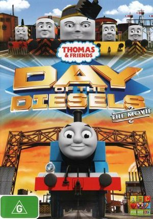Thomas & Friends : Day of the Diesels - The Movie - Ringo Starr