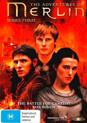 The Adventures of Merlin : Series 3 - Bradley James