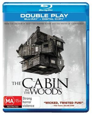 Booktopia The Cabin In The Woods Blu Ray Digital Copy
