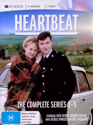 Heartbeat : Series 1-5 (17 Discs) - Nick Berry