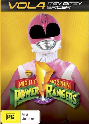 Mighty Morphin Power Rangers : Itsy Bitsy Spider - Volume 4 - Walter Jones