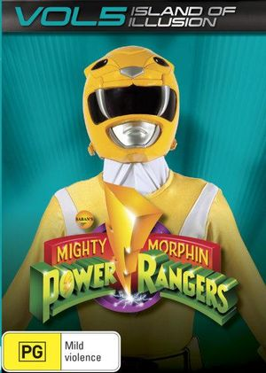 Mighty Morphin Power Rangers : Island of Illusion - Volume 5 - Walter Jones