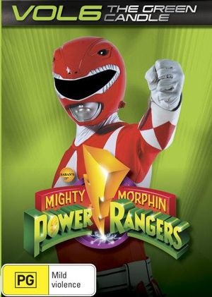 Mighty Morphin Power Rangers : The Green Candle - Volume 6 - Walter Jones