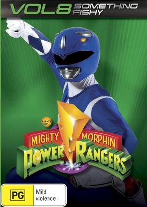 Mighty Morphin Power Rangers : Something Fishy - Volume 8 - Walter Jones