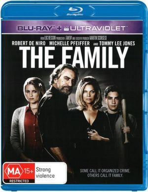 The Family (Blu-ray/UV) - Robert De Niro